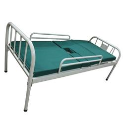 成都雄盛XS-038单摇病床(单摇带孔带床垫带护拦)