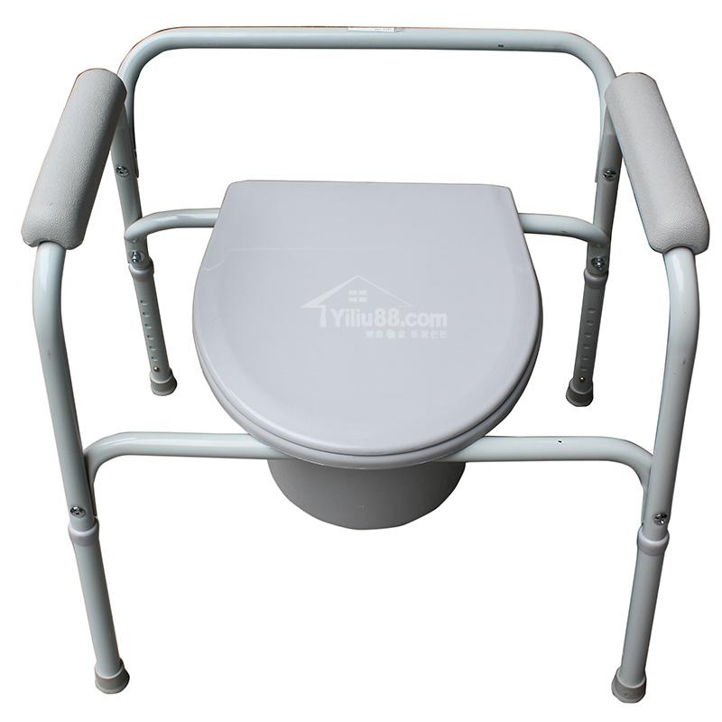 鱼跃固定扶手式座厕椅H020B型