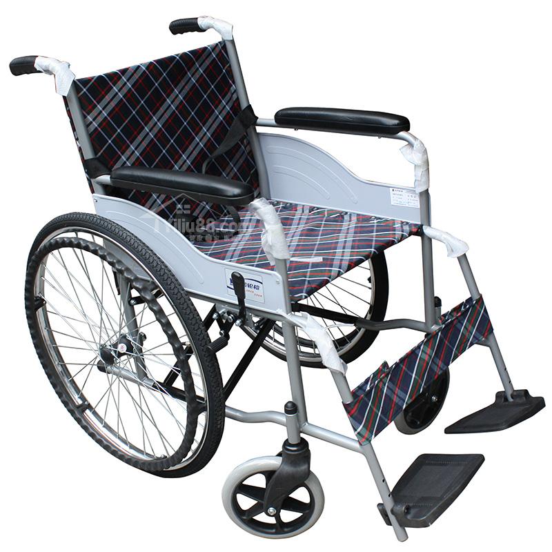 互邦普通钢管软座轮椅车HBG25型(空心胎)