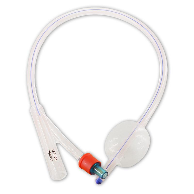维力 一次性使用无菌硅胶导尿管 双腔标准型16号