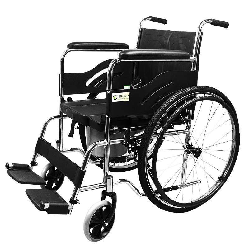 瑞诚钢管手动轮椅RCG02