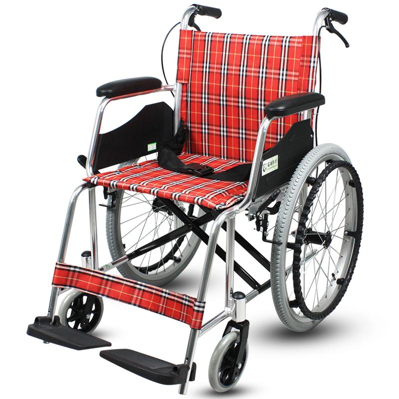瑞诚 铝合金手动轮椅车RCL01