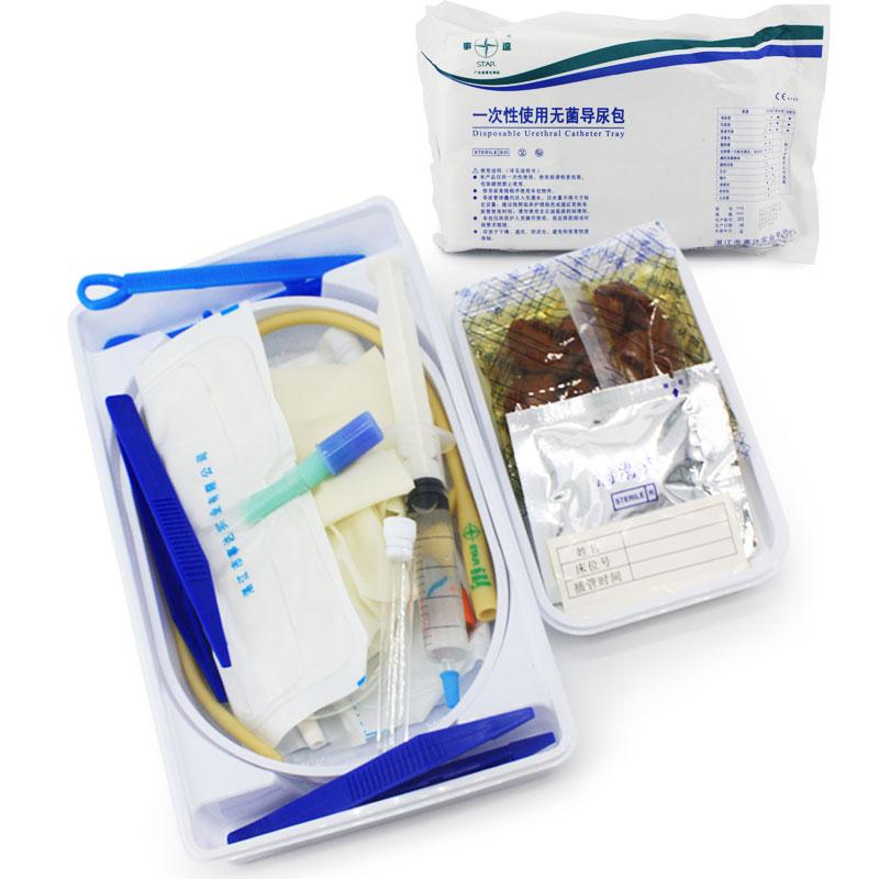 事达 一次性使用无菌导尿包 标准型12号