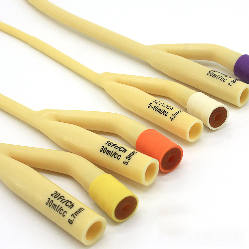 维力 一次性使用乳胶导尿管 双腔标准型20号