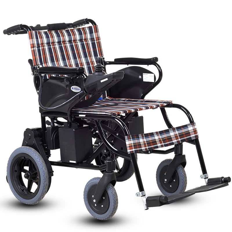 互邦电动轮椅车HBLD4-A 送打气筒