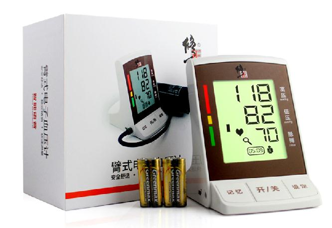 修正 臂式电子血压计AES-U171型