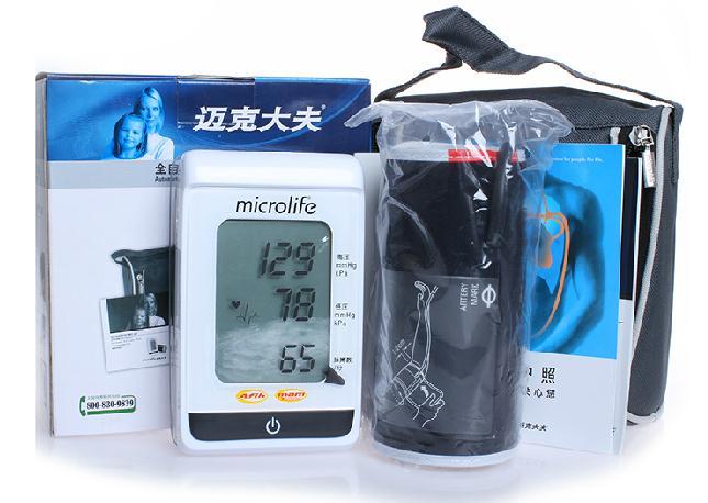 迈克大夫 全自动臂式电子血压计BP3MS1-2M型