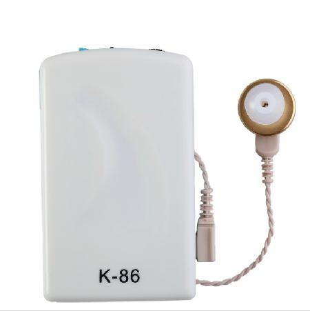 馨尔康 K-86老人耳聋有线盒式助听器