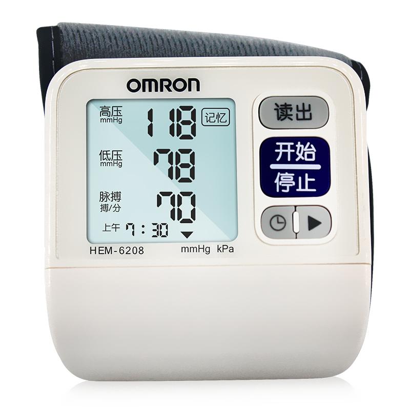OMRON欧姆龙腕式电子血压计HEM-6208