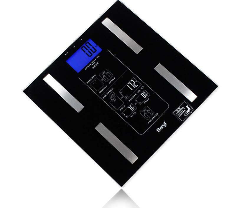 贝雅 人体脂肪测量仪 电子称 BYF-06