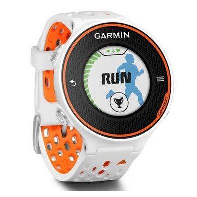 佳明 心率测量手表 橙白色