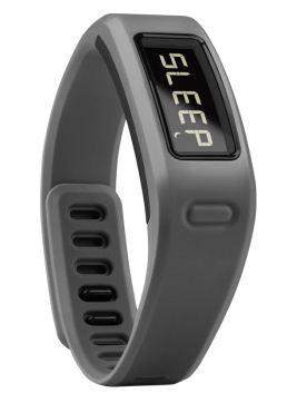 佳明 带心率检测智能手环 灰色