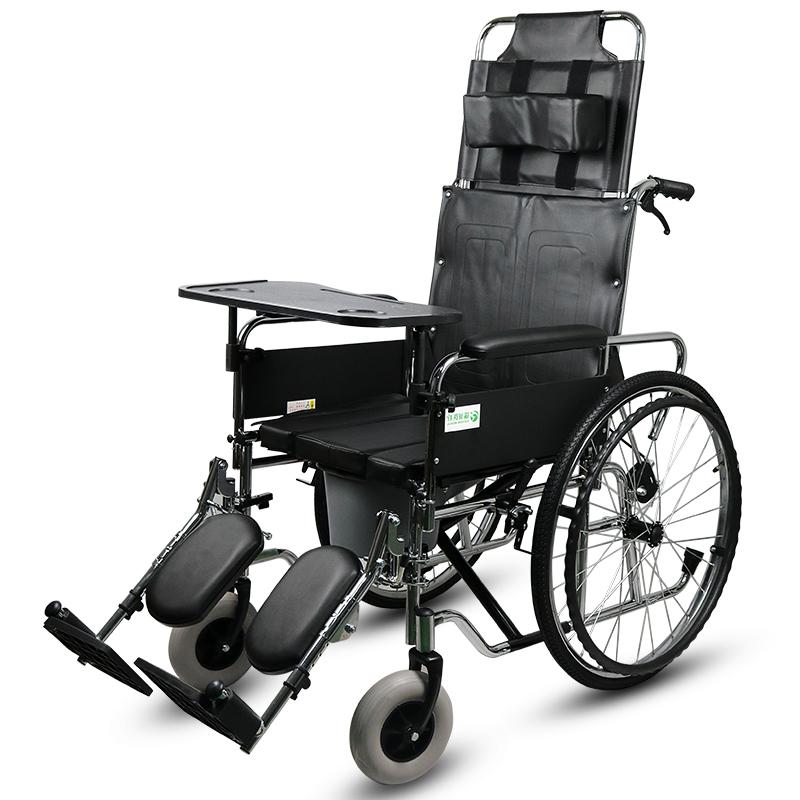 瑞诚 高靠背手动轮椅车RCG09