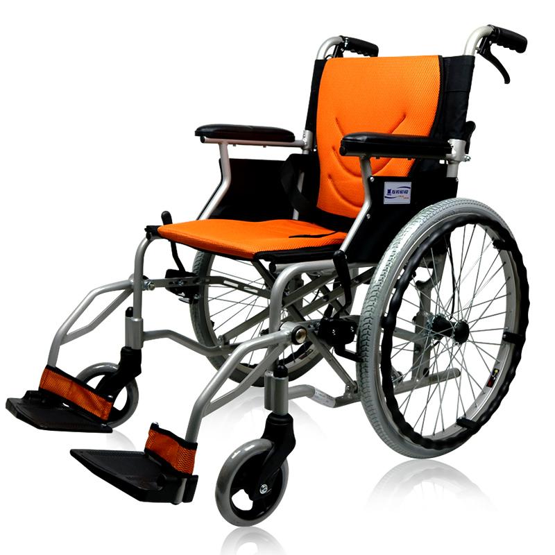 互邦 手动 铝合金轮椅 HBL35-SJZ20(升级款)