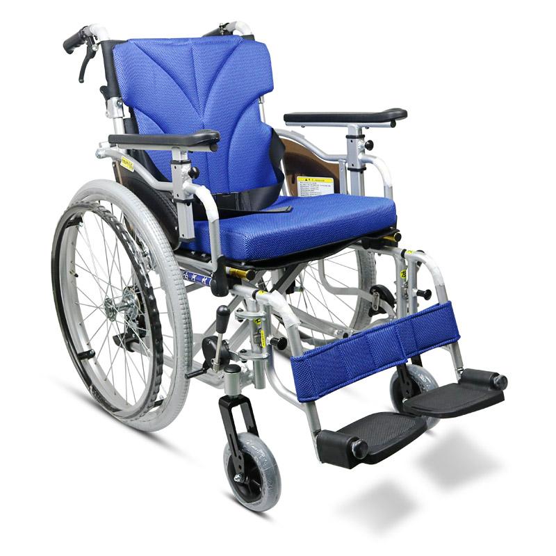 河村 铝合金手动轮椅SY2-KZM-42