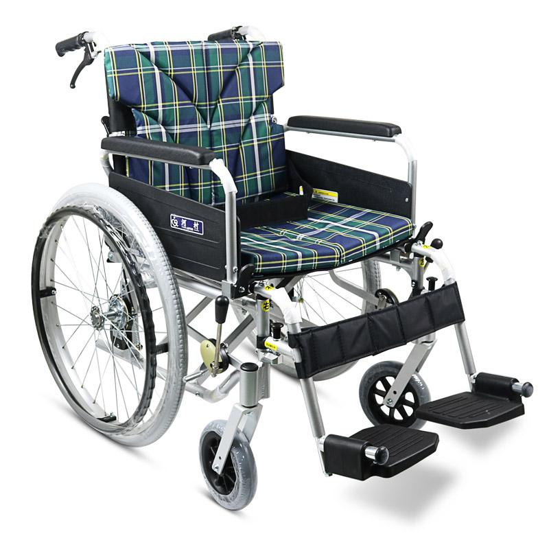 河村 铝合金手动轮椅车SY2-KA8-45