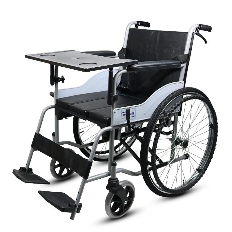互邦 钢管手动轮椅车 HBG16-Bs