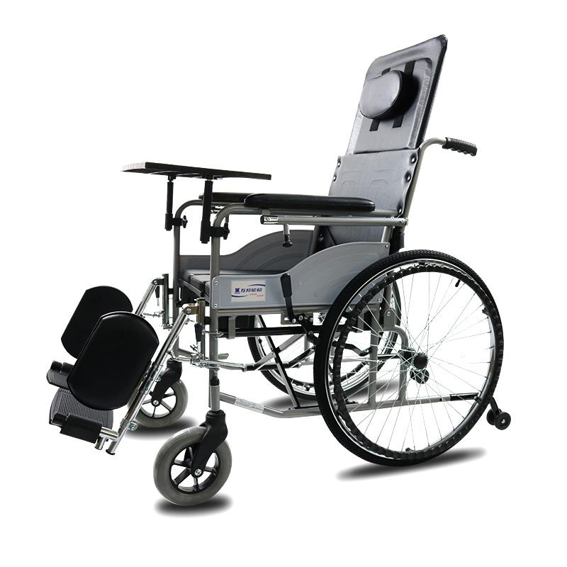 互邦 可折叠高靠背护理型手动轮椅 HBG20-B