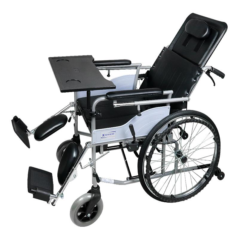 互邦 高靠背半躺带手刹 手动轮椅RCG20-BS