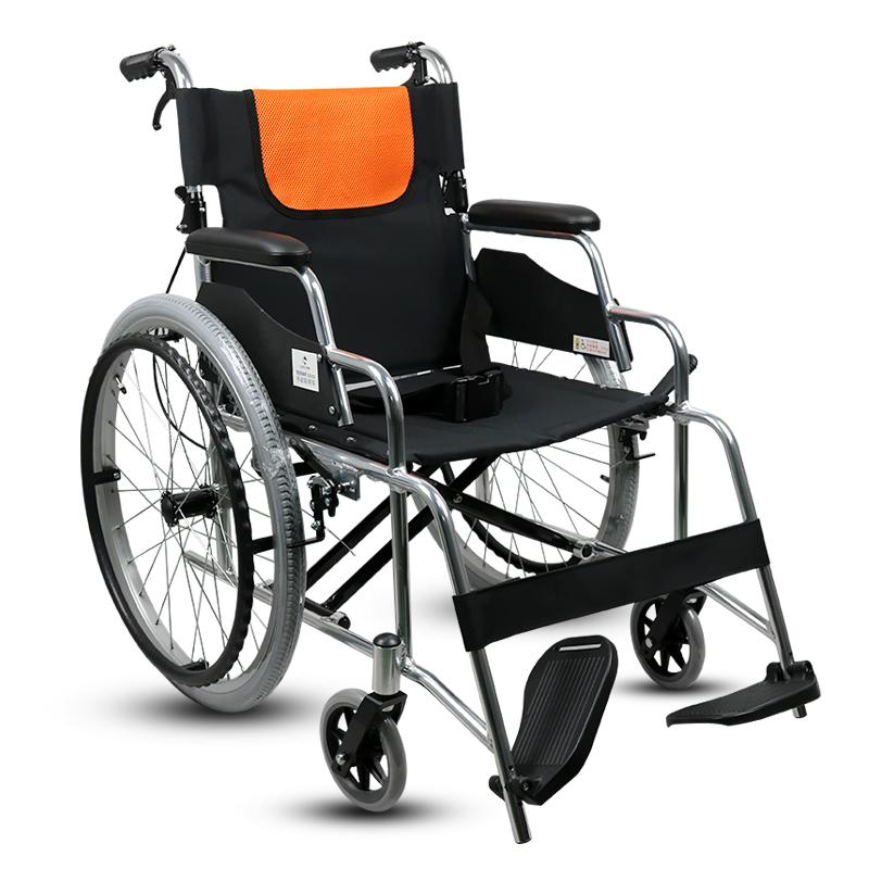 加加林 可折叠 铝合金 手动轮椅 RCL04