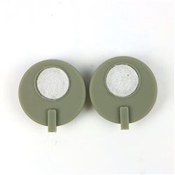 好万家低频中频治疗仪HYS-339配件 导药电极(一对)