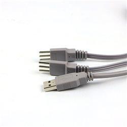 好万家低频中频治疗仪HYS-339配件 红外热灸电极插线