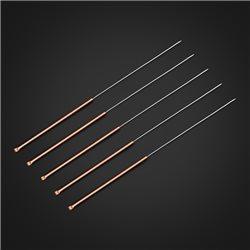 华佗牌针灸针 紫铜柄针 0.4*75mm(3寸)