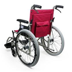 互邦轮椅车HBL35-SJZ20 红色空心胎