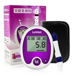 三诺 安稳免调码型血糖仪 单机