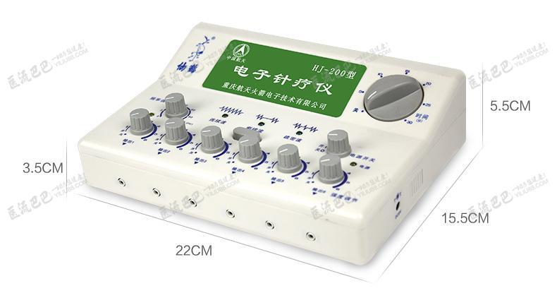 针灸治疗仪 仙鹤 仙鹤电子针疗仪低频六通道hj-200  商品详情 说明书