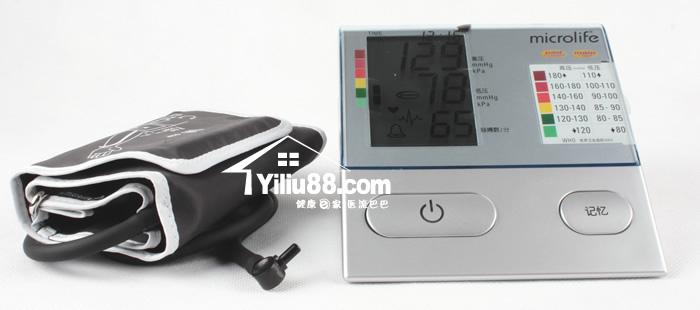 家用医疗器械分类-迈克大夫自动型BPA100Plus数字显示电子血压计介图片